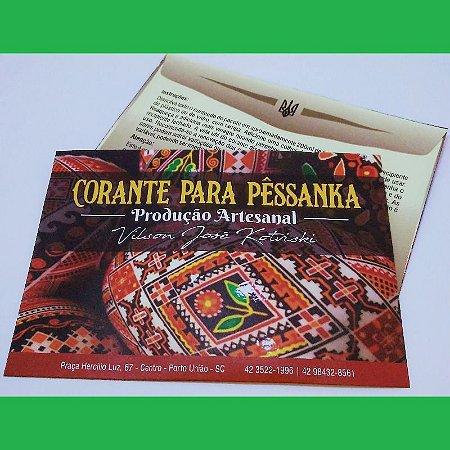Tinta para pêssanka - corante VERDE