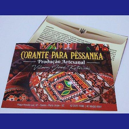 Tinta para pêssanka - corante AZUL ESCURO