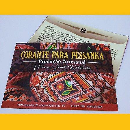 Tinta para pêssanka - corante AMARELO OURO