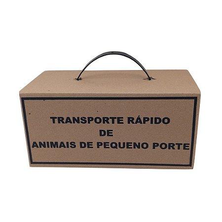 Caixa de Transporte Rápido de Animais de Pequeno Porte - Pct. c/ 100 Unid.