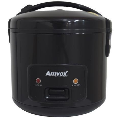 Panela Elétrica de Arroz 6 Xícaras 1,2 L 400W Antiaderente Automática Amvox APA 010