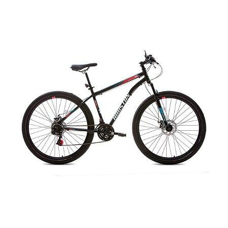 Bicicleta Discovery Cadilac Aro 29 Preta-Houston