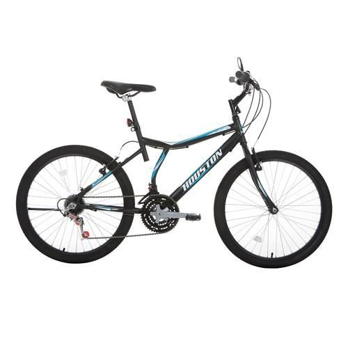 Bicicleta Atlantis Land Aro 24 Preta Fosco-Hoston