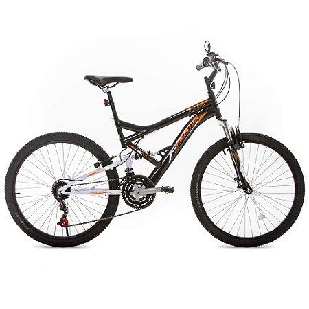 Bicicleta Aro 26 Stinger Preta/Branca-Houston