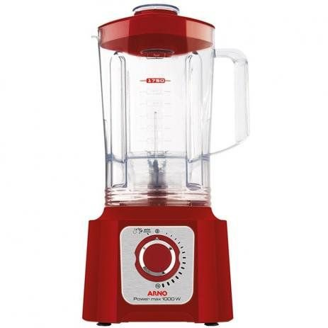 Liquidificador Power Max LN54 15V 1000W Power Max Red-Arno