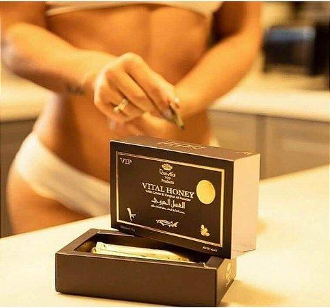 Vital Honey Masculino (Melzinho do Amor) - Caixa com 12 Saches 10g - 100% Original