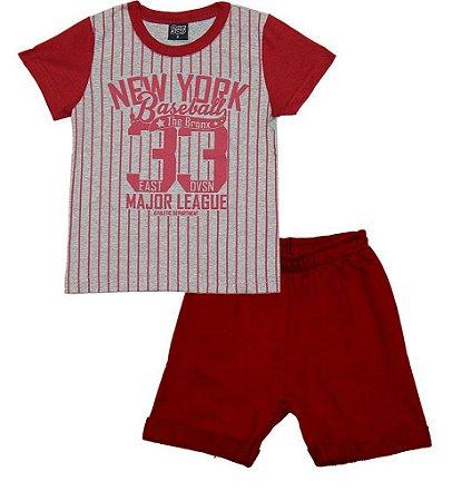 Conjunto Infantil Menino New York Baseball - One Boy