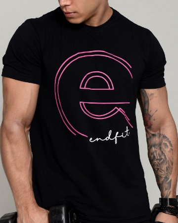 Camiseta Masculina End Fit - Pink Dot
