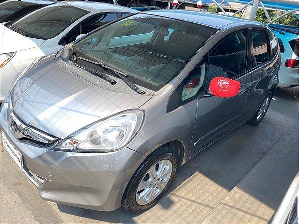 HONDA   FIT  1.4 LX 16V FLEX 4P AUTOMÁTICO 2013  /  2014  Cinza