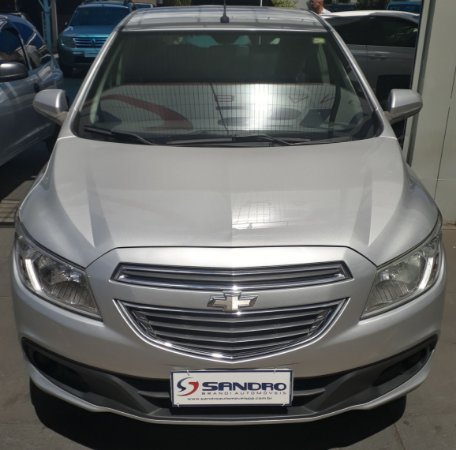 CHEVROLET   ONIX  1.0 MPFI LT 8V FLEX 4P MANUAL 2012  /  2013  Prata