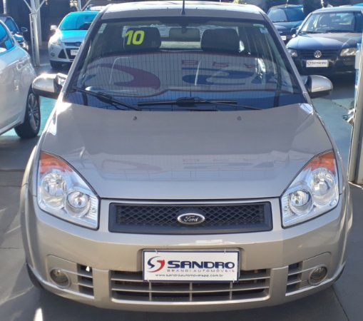 FORD   FIESTA  1.6 MPI CLASS SEDAN 8V FLEX 4P MANUAL 2009  /  2010  Prata
