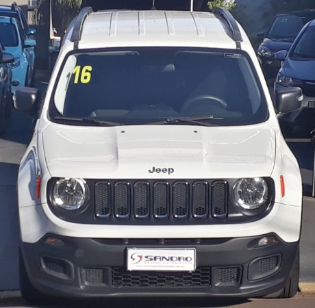 JEEP   RENEGADE  1.8 16V FLEX 4P AUTOMÁTICO 2016  /  2016  Branco