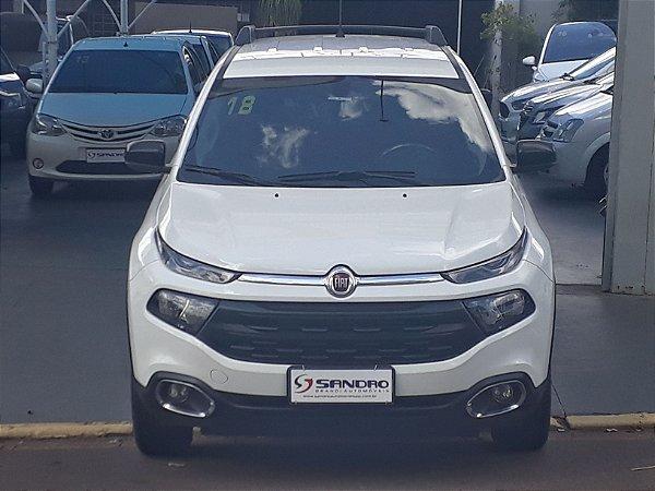 FIAT   TORO  1.8 16V EVO FLEX FREEDOM AT6 2017  /  2018  Branco