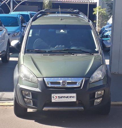 FIAT   IDEA  1.8 MPI ADVENTURE 16V FLEX 4P MANUAL 2010  /  2011  Verde