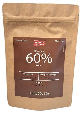 Chocolate Artesanal 60% Dark - Bean to Bar