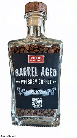 Garrafa com Café maturado em barril de bourbon americano (250g)