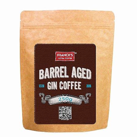 Café maturado em barril de gin (250g)