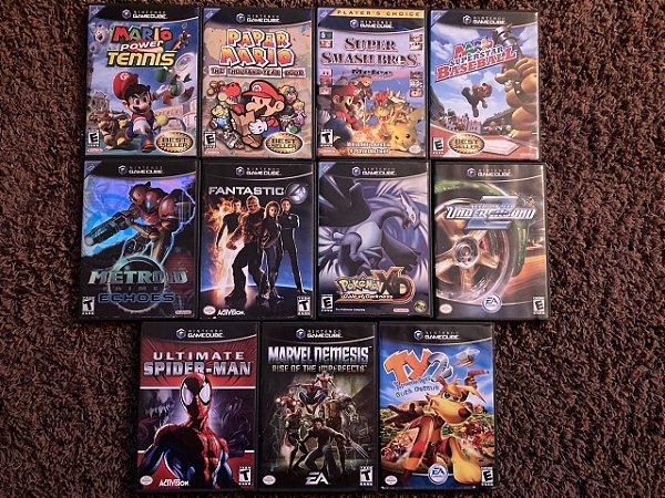 Jogos de Game Cube Nostalgia