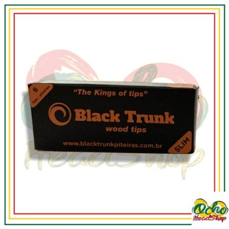 Black Trunk Wood Slim