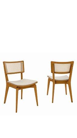 Cadeira New York com palhinha