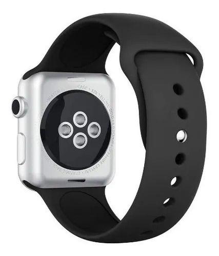 Pulseira emborrachada Apple Watch 42/44 mm