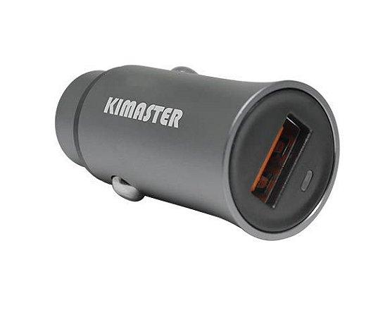 Carregador Veicular Kimarter USB Turbo 2.4A CV200 / CV 300