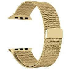 Pulseira Magnetica Apple Watch 42/44mm Dourada