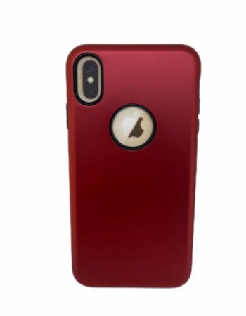 Case Icool Dual Armour IP XS Max Vermelha
