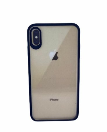 Case Ikase Thin Clear IP XS Max Black