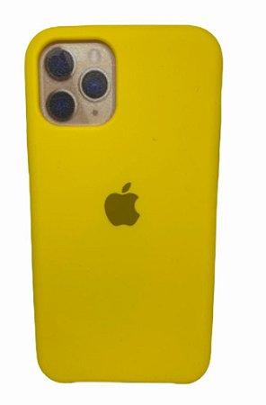 Case Silicone IP 11 Pro Amarela
