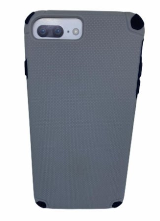 Case Hardbox IP 6 / 7 / 8 Plus Max Protect Grey