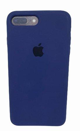 Case Silicone IP 7 / 8 Plus Azul Marinho