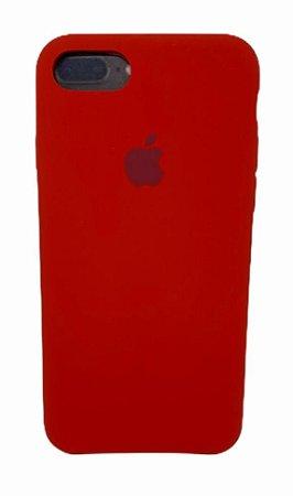 Case Silicone IP 7 / 8 Vermelho
