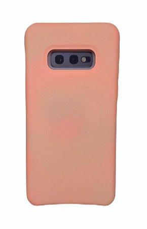 Case Silicone Sam S10 Lite Rosa
