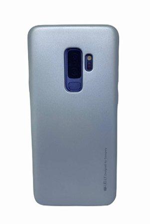 Case Jelly Metalizada Sam S9 Plus Gray