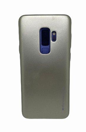 Case Jelly Metalizada Sam S9 Plus Gold