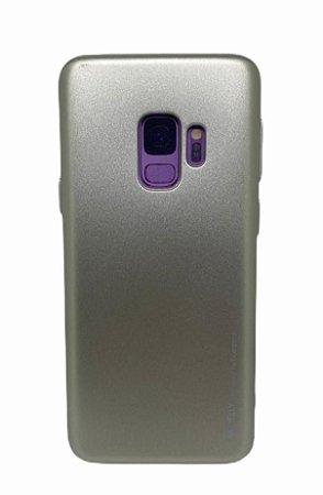 Case Jelly Metalizada Sam S9 Gold
