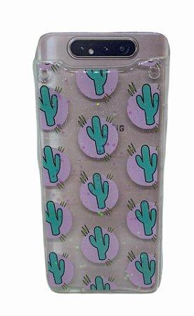 Case Tpu Sam A80 Transparente Desenhos
