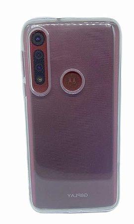 Case Tpu Reforçado Moto Macro  / G8 Play Transparente