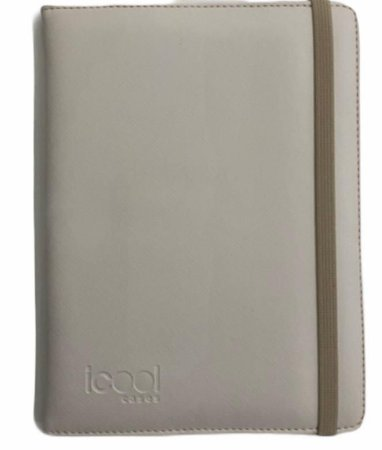 "Case Icool Tablet 10"" Couro Nude"