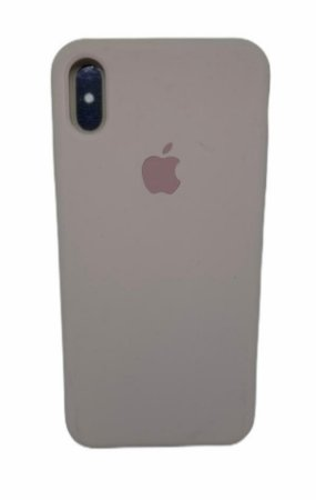 Case Silicone IP XS Max Nude