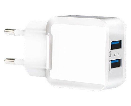 Carregador 2 USB Kimaster 3.4A TO350XB