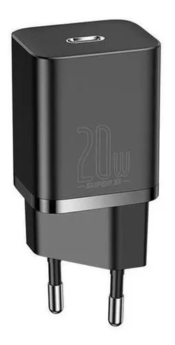 Carregador Parede Type-C Baseus SI Quick Charger 20W Preto