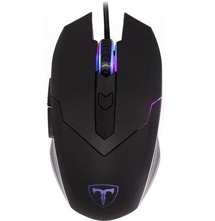 Mouse Gamer T-Dagger Lance Corporal T-TGM107 RGB 3200 DPI 6 Botões, Black