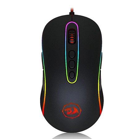 Mouse Gamer Redragon Phoenix Chroma M702-2 RGB, 10000 DPI, 9 Botões Programáveis, Black