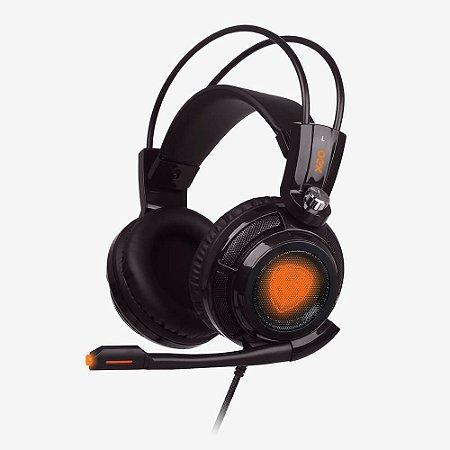 HEADSET EXTREMOR PRETO 7.1 USB • HS400
