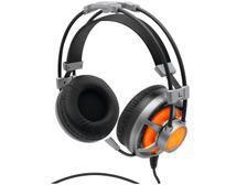 Headset Gamer 7.1 Surround Channel C/ Microfone - Led Laranja - Cabo 2,2 Metros - HGSS71 - ELG EXTREME