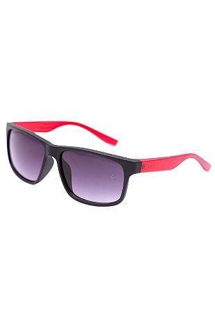 Óculos de Sol Camou Play Preto e Vermelho