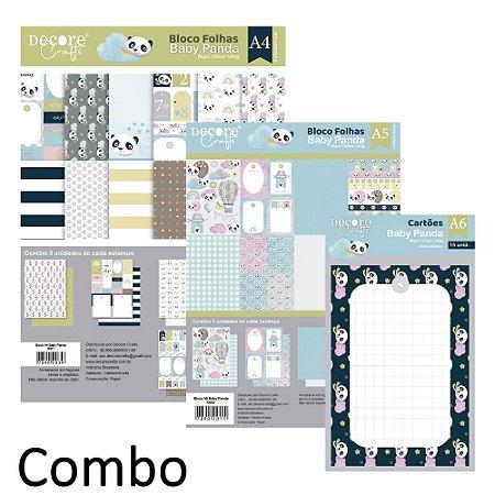 PROMO - COMBO - BABY PANDA - A4 / A5 e A6