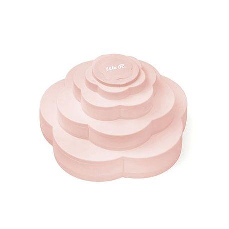 Armazenador Bloom Storage  Rosa - WR - Grande ( BRINDE = DECORE NOTE ROSA + FIO DE CABELO ROSA )